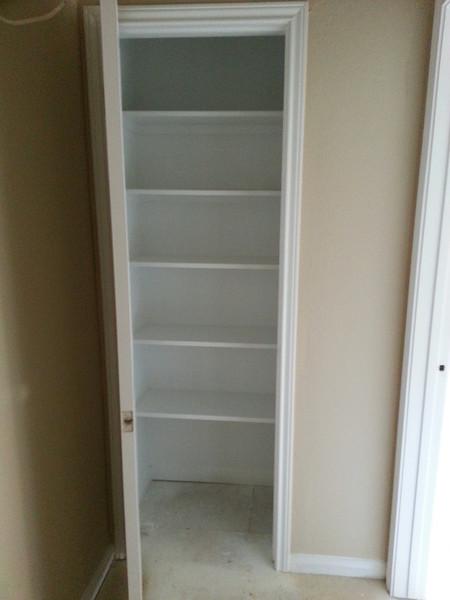 linen closet upstairs