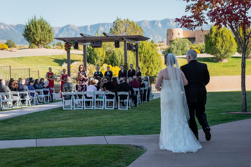 Sandia Hotel Casino New Mexico October Wedding Ceremony C&C-66.jpg