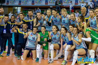 Bronze Medal Match: Dinamo Kazan - Fenerbahce Grundig Istanbul