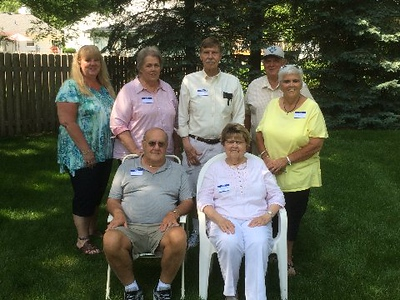 Skinner clan at family reunion - 6/16