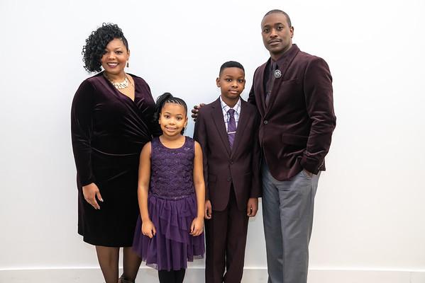 Eddie, Tressa Jones and Family