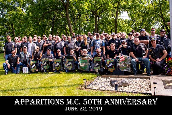 Apparitions MC Celebrate 50 years