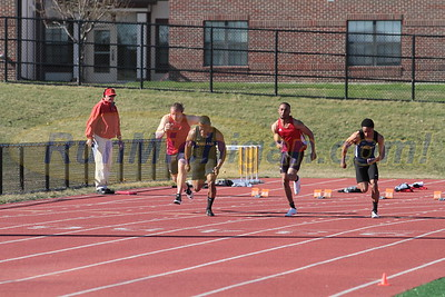 100M Men - 2017 Oakland vs Detroit Mercy Dual Meet