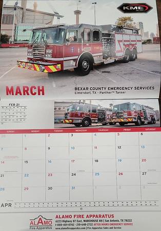 CFPA Members in 2021 Calendars