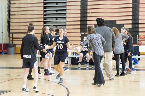 Girls Basketball vs. Westfield 2017