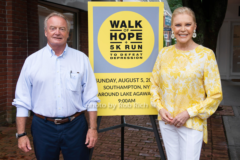 Week of Hope for Depression Awareness Campaign launch in Southampton  on  7-26-18 in Southampton.  photos by D.Gonzales for  Rob Rich/SocietyAllure.com ©2018 robrich101@gmail.com 516-676-3939