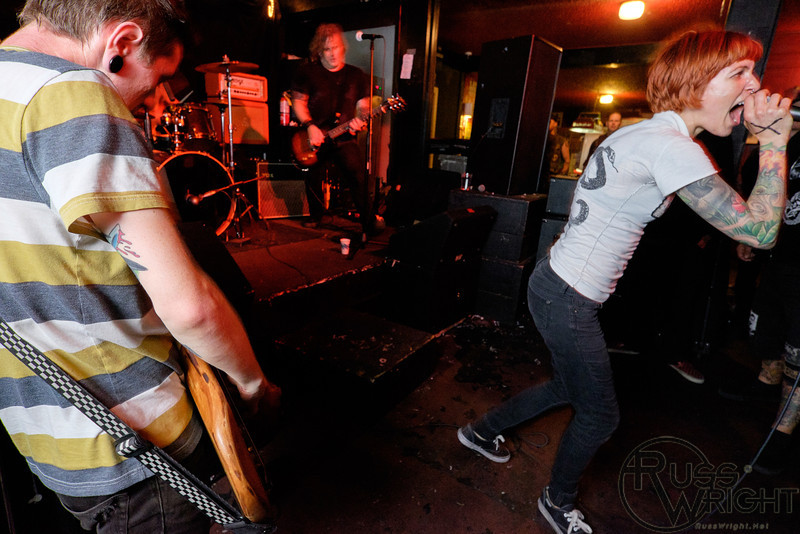 Rats in the Wall at Eli's Mile High. Oakland, CA. June 2014