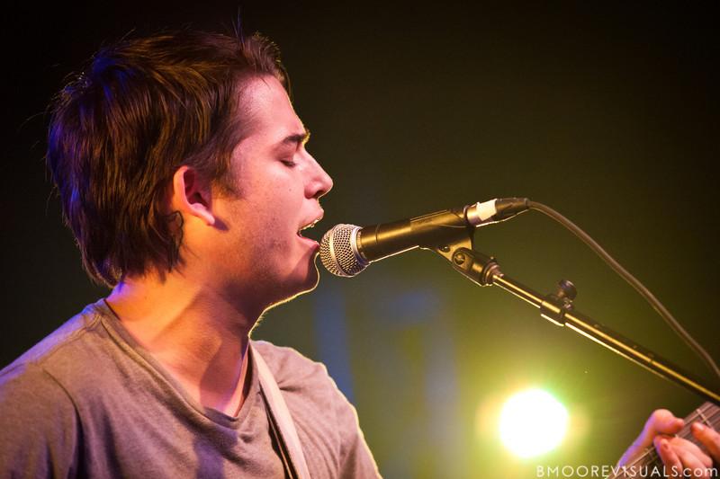 Brennan Taulbee of Oceana performs on November 26, 2010 at The Ritz in Ybor City, Tampa, Florida