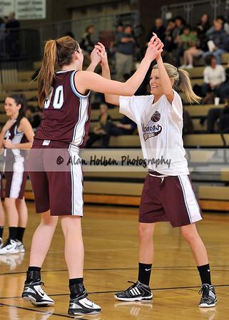 Girls Varsity Basketball - Okemos at Holt - Jan 28