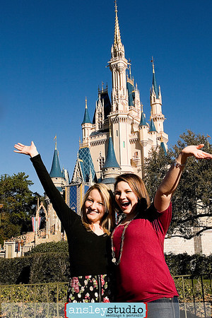 Jana & Emily: Senior Portraits at Disney World