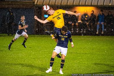9-21-21 - Best of Michigan Men's Soccer Vs Notre Dame