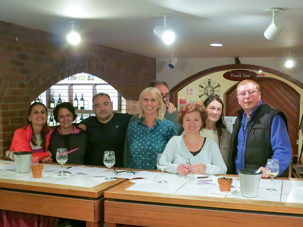 Wine tasting experience at Millbrook Winery - October 19, 2014