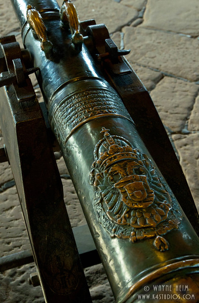 Engraved Cannon   Photography by Wayne Heim