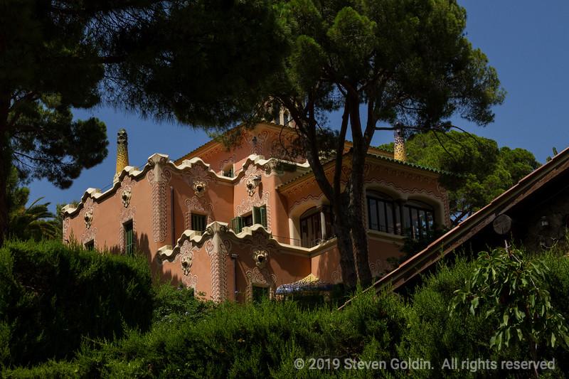 Parc Guell - Failed condominium site designed by Antonio Gaudi