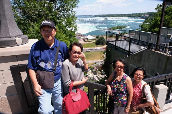 Dennis and Leni Tour  Niagara Area