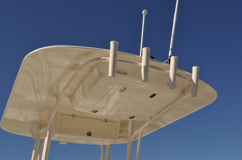 4 Tulip Rod Holder on Aft SunShade
