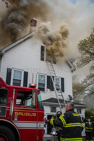 Saugus, MA 2nd Alarm - 435 Walnut St - 5/3/17