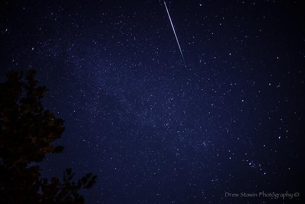 Star Trails and Metors