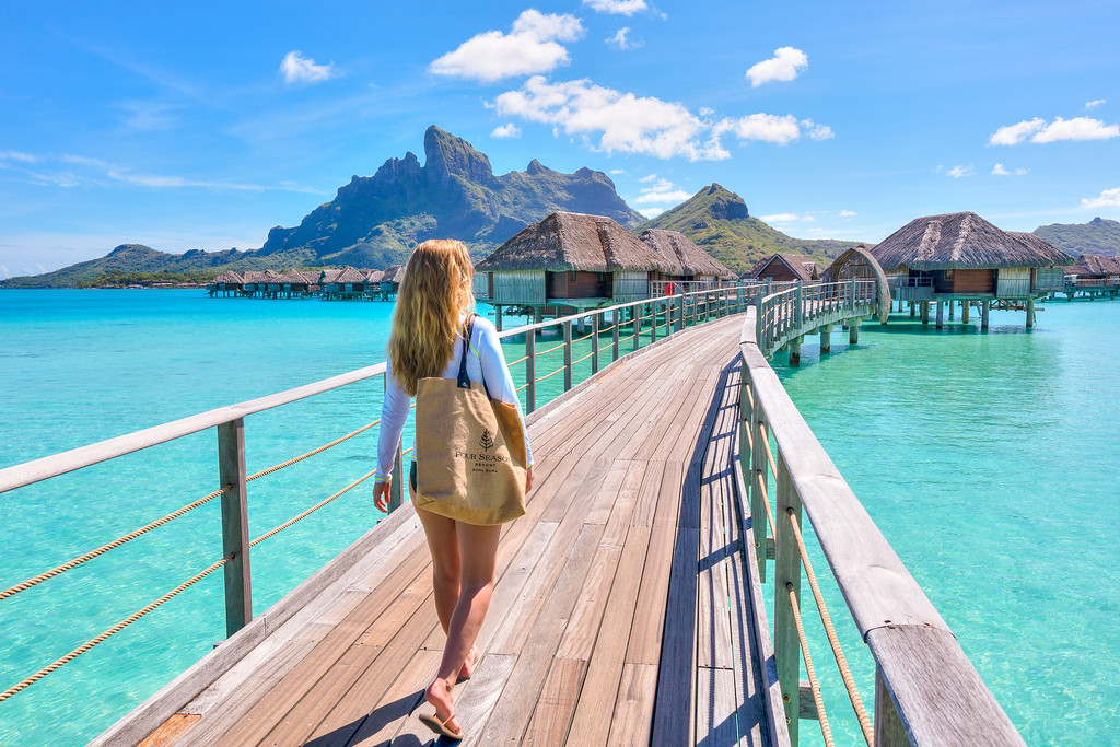 Four Seasons Resort Bora Bora Overwater Bungalow French Polynesia