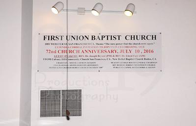 FUBC 72nd CHURCH ANNIVERSARY