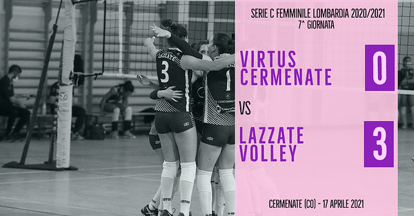 LOM-Cf: 7^ Virtus Cermenate - Lazzate Volley