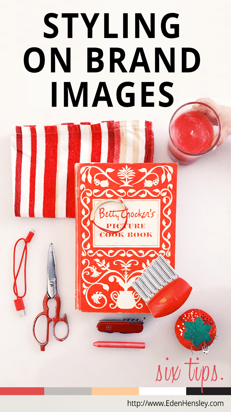 Six Tips for Styling On Brand Flat Lay Images