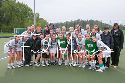 "5/19/2018 NCAA ""Sweet 16"" YCP Women's Lacrosse vs Catholic University"