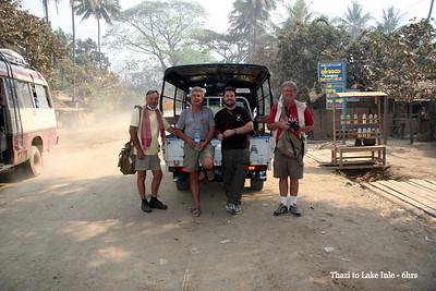 Thazi to Inle Lake