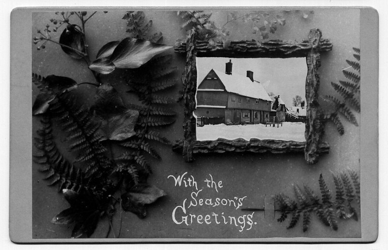 Christmas card (Rev Holland) Provided by Elizabeth Smith