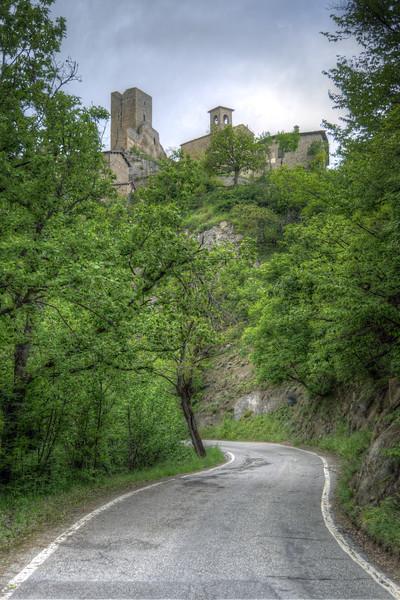 Castello delle Carpinete - Carpineti, Reggio Emilia, Italy - May 12, 2013