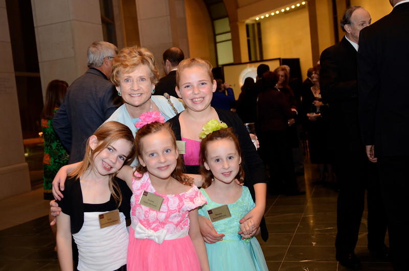 Dorothy McFerrin with Granddaughters