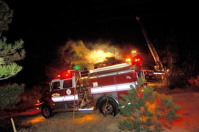 Castle Rock Saddleback Drive Fire