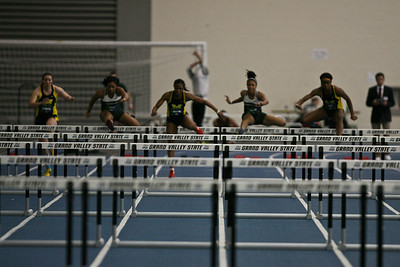 60 Meter HH - 2013 UM vs MSU Indoor Meet