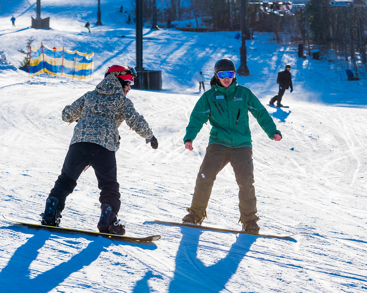 Adaptive Sports Foundation, Warriors In MotionWeekend, Windham Mountain, NY; 1/6/16