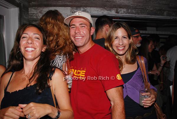 Nicole, Evan Levine and Robin
