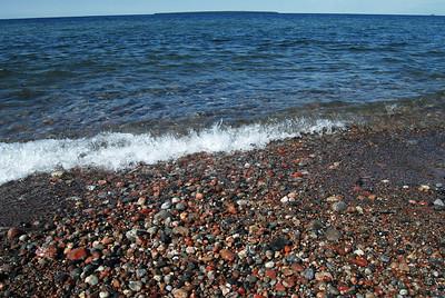 Agawa Bay's Rocky Beach