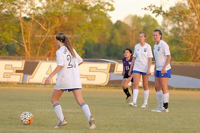 West vs East 17 soccer girls