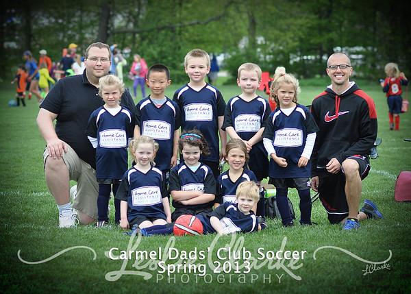 CDC Soccer Blue Lightning 5/4/2013