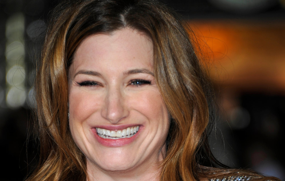 Description of . Actress  Kathryn Hahn arrives for the premiere of 'Wanderlust' at the Mann Village Theatre on February 16, 2012 in Westwood, California. JOE KLAMAR/AFP/Getty Images