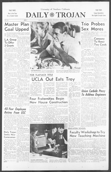 Daily Trojan, Vol. 56, No. 75, March 03, 1965