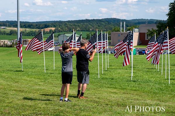 9/11 Healing Field, Hanover, PA - September 2021.