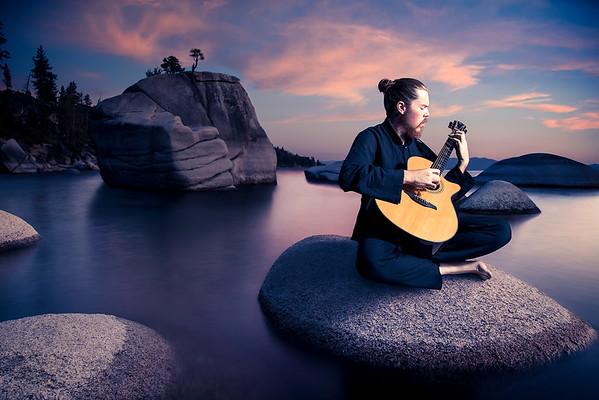 """""""Steppes"""" Album Cover - Adrian Bellue"""