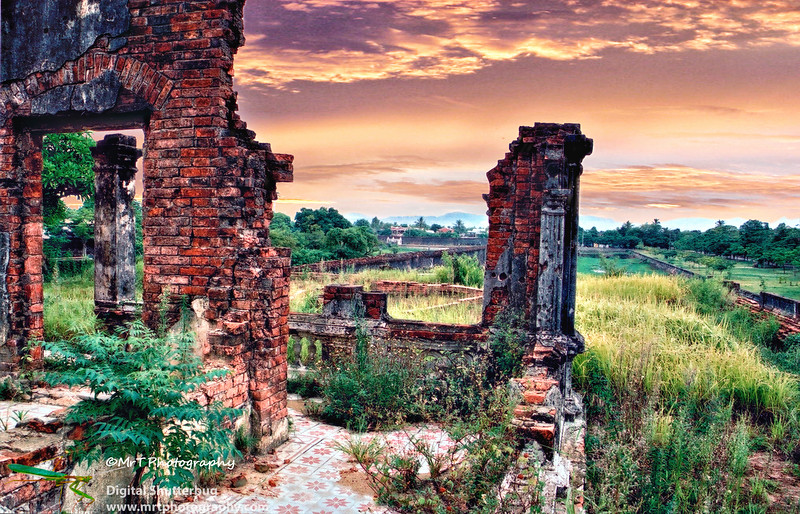 Northern remparts Imperial City Hue Viet Nam
