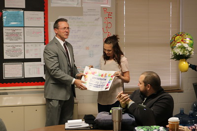 North Richland Middle School's 2017 Teacher of the Year