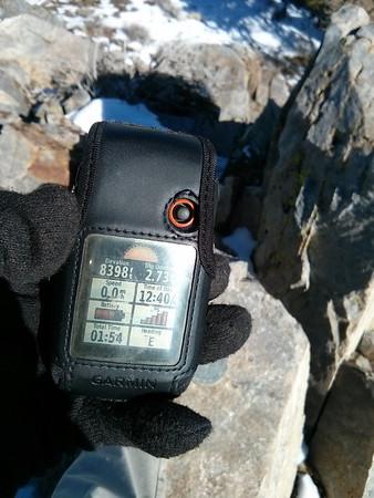 Owens Peak - February 5, 2014