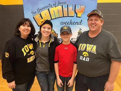 2018 11-10 U of Iowa Family Weekend