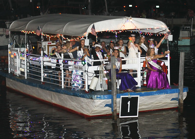 Saturday June 16, 2018. Festival of the Fish. Lighted Boat Parade.
