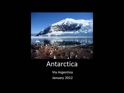 2012 Antarctica via Argentina