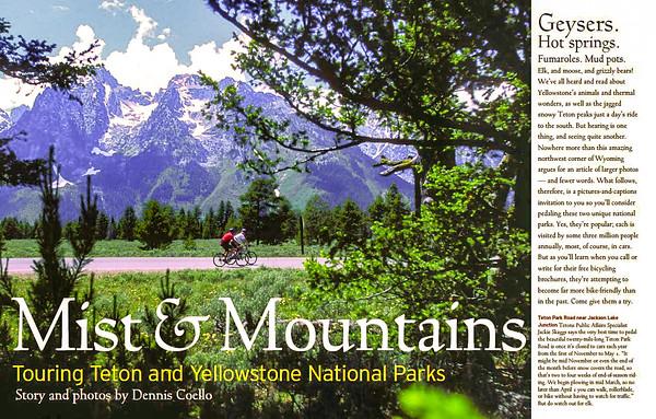 Mist & Mountains -- Yellowstone & the Tetons
