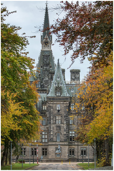 Fettes College from East Fettes Avenue